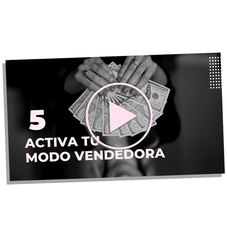modulo 5 - activa tu modo vendedora